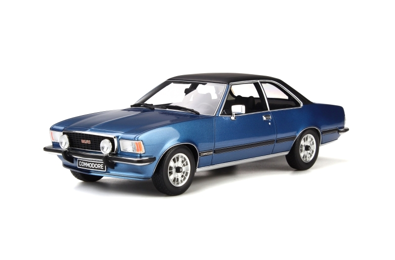 Opel Commodore B GS/E 1977 Lake Blue 1:18 OttOmobile