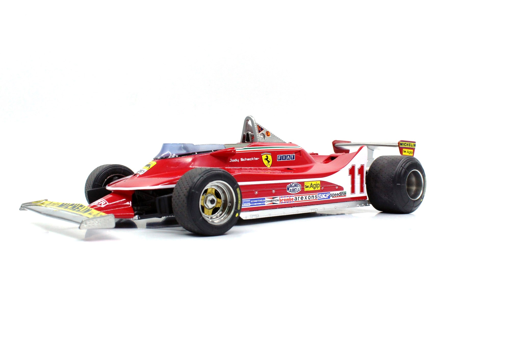 Ferrari F1 312 T4 #11 J.Scheckter 1979 World Champion 1:18 GP Replicas