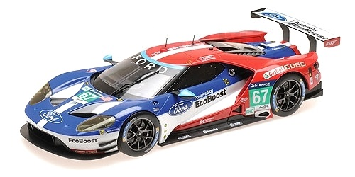 Ford GT Chip Ganassi Racing UK Franchitti/ Priaulx/Tincknell 24H Le Mans 2016 1:18 Minichamps