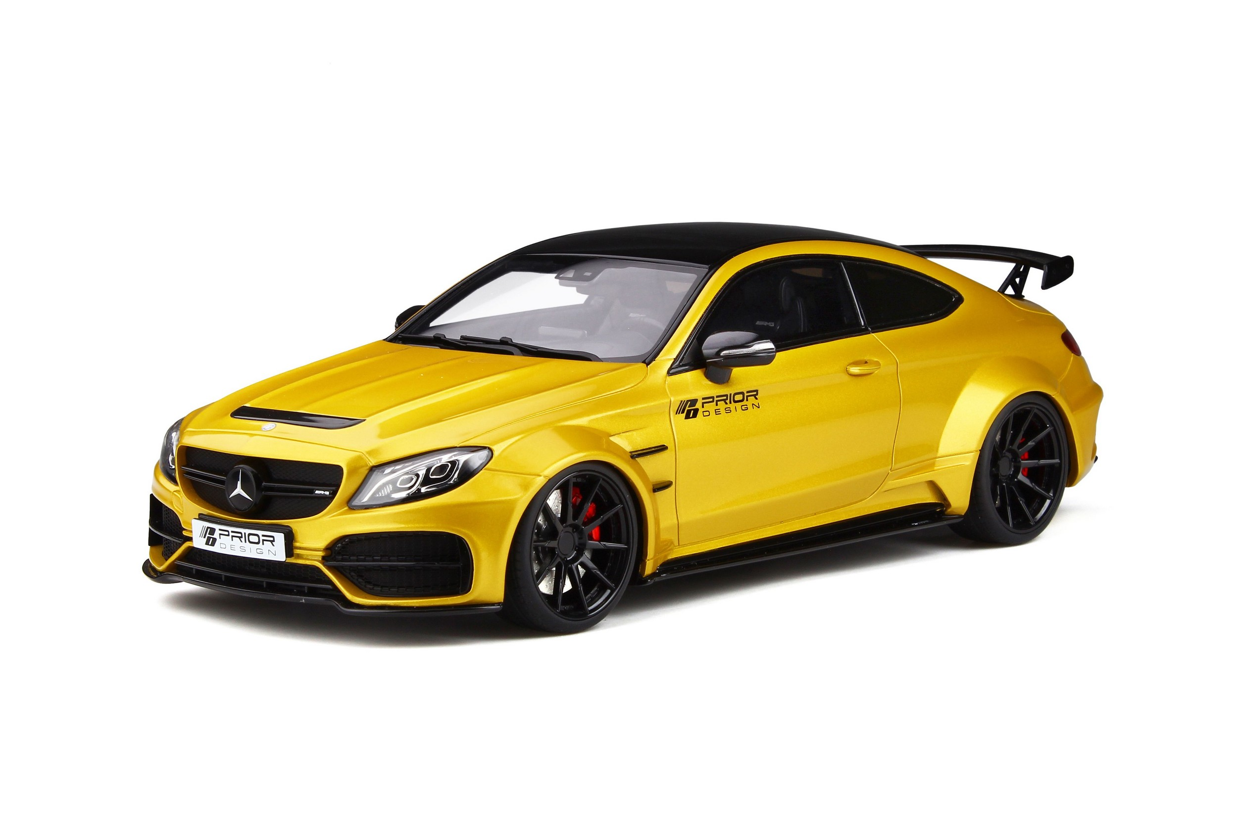 Mercedes-AMG C-Class 63 Coupe Prior Design 1:18 GT Spirit