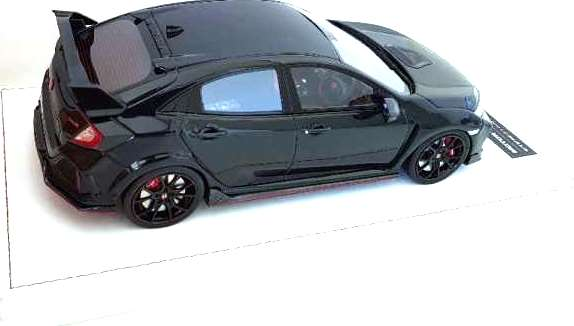 Honda Civic R RHD 2017 shinny black 1:18 Motorhelix