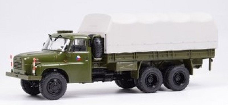Tatra 148 ČSLA plachta 1:43 SSM Start Scale Models