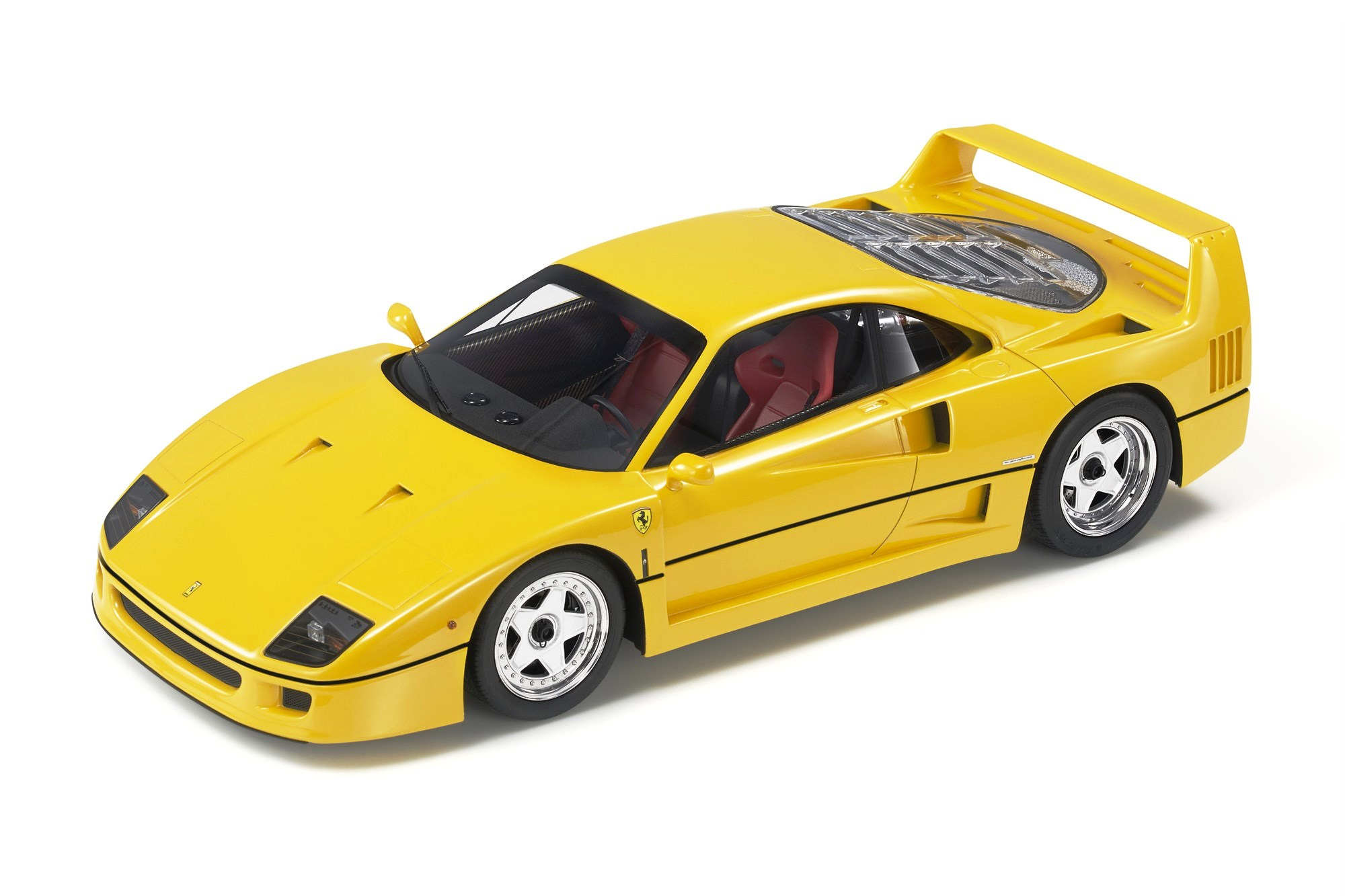 Ferrari F40 1987 yellow 1:18 Top Marques Collectibles