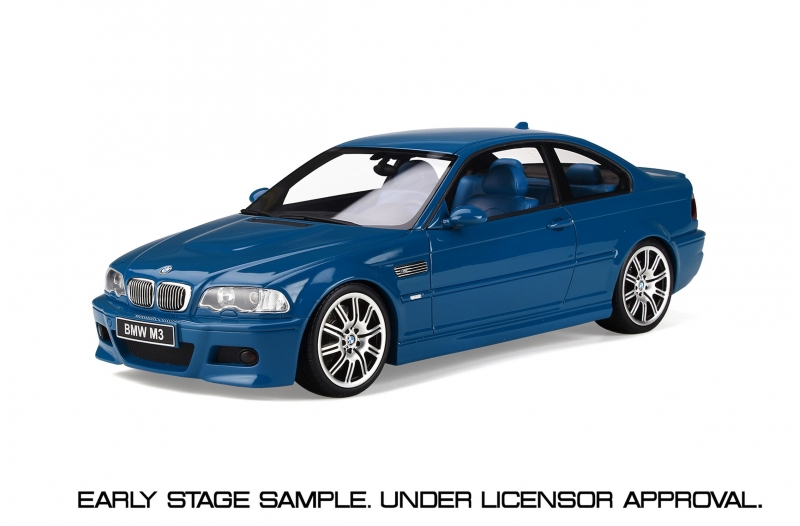 BMW E46 M3 2000 Laguna Seca blue 1:18 OttOmobile