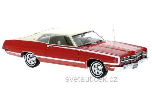 Ford XL Coupe 1969 red 1:43 Neo Models