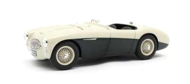 Austin Healey 100S Spider 1955 green/white 1:18 Cult Scale Models