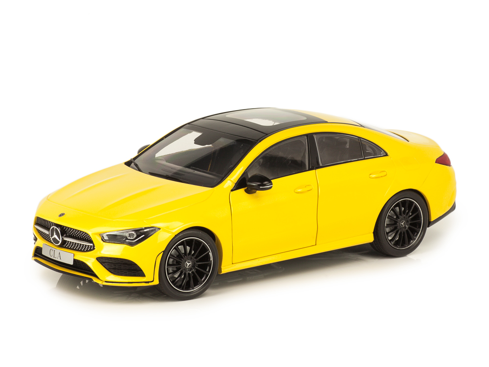Mercedes-Benz CLA Coupe C118 2019 yellow 1:18 Z-Models