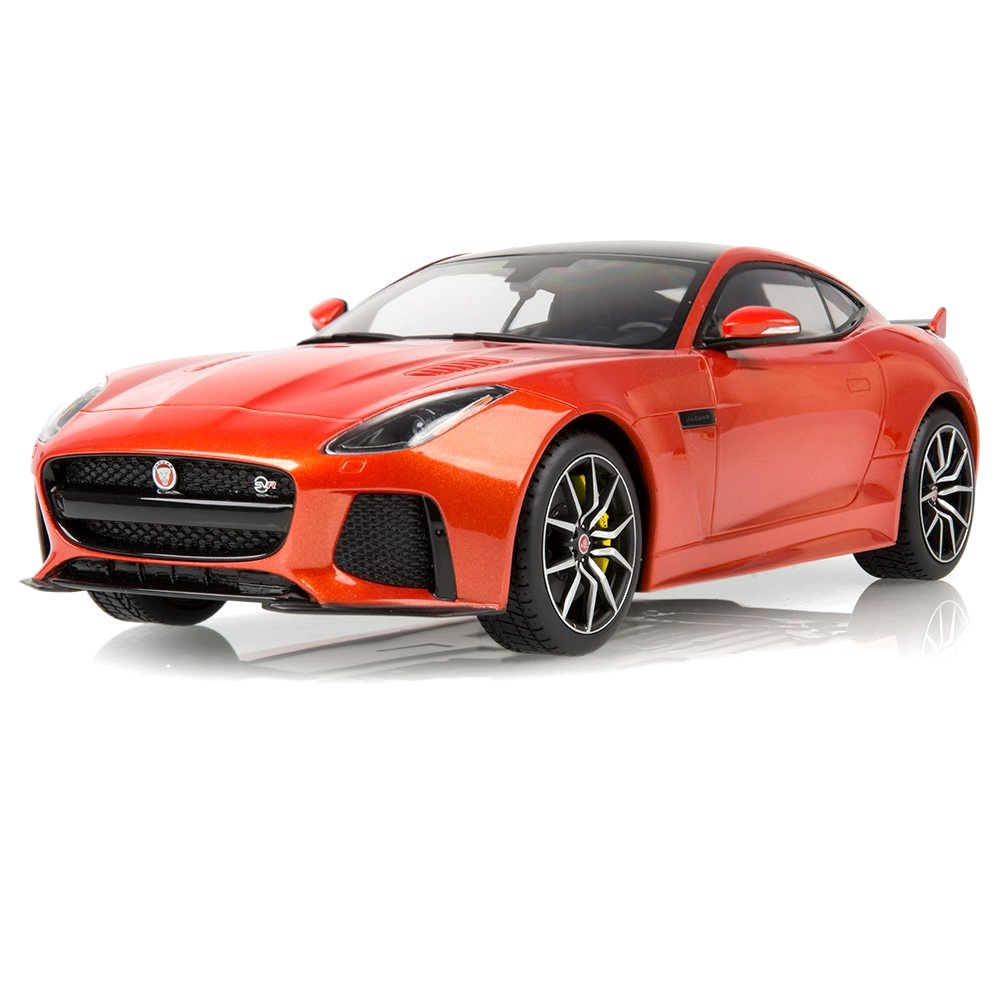 Jaguar F-Type SVR Coupe 2015 firesand metallic 1:18 TSM Model