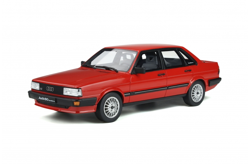 Audi 80 Quattro B2 1983 Mars Red 1:18 OttOmobile