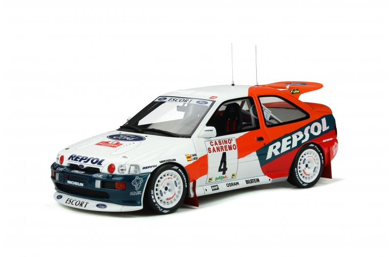 Ford Escort Cosworth Gr. A #4 Sainz Rally San Remo 1996 1:18 OttOmobile