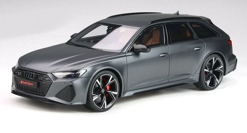 Audi RS6 Avant C8 2020 matt Daytona grey 1:18 GT Spirit