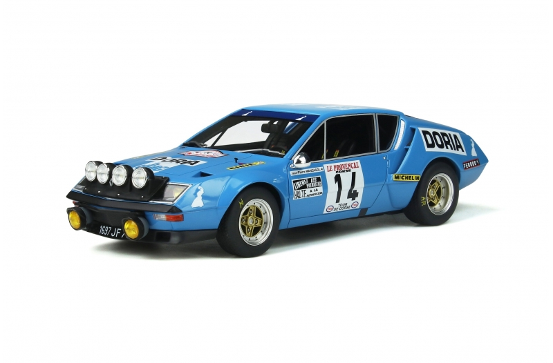 Alpine A310 1600 Gr.4 1976 Tour de Corse 1:18 OttOmobile