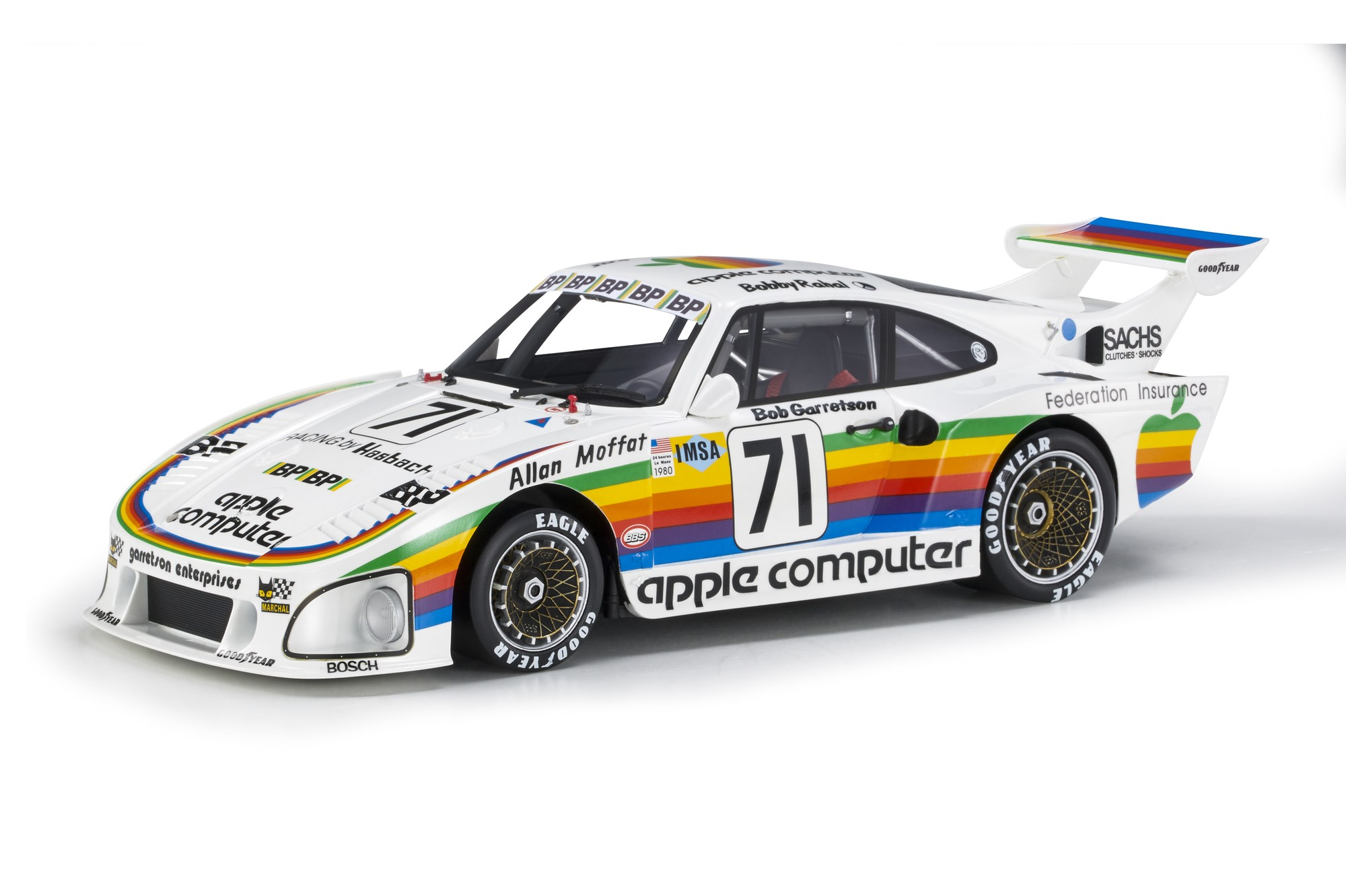Porsche 935K3 #71 Rahal/Moffat/Garretson 24H Le Mans 1980 1:18 Top Marques Collectibles