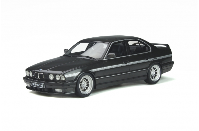 BMW Hartge H5 V12 E34 Sedan 1989 Diamond Black Metallic 181 1:18 OttOmobile