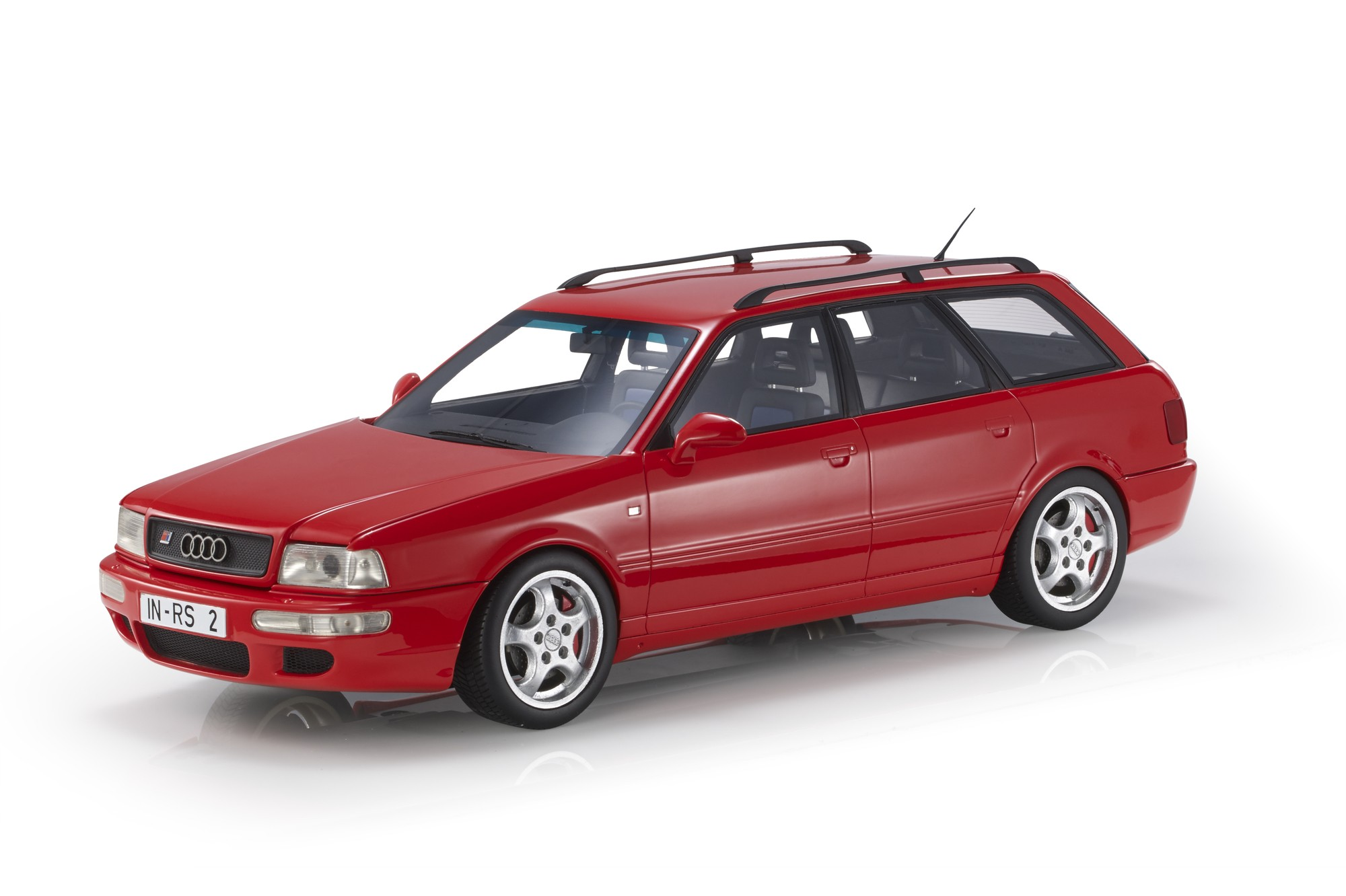 Audi A4 RS2 Avant 1994 red 1:12 Top Marques Collectibles