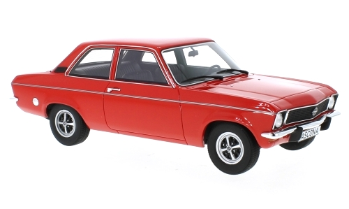 Opel Ascona A 1973 red 1:18 Bos Models