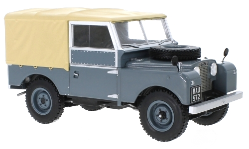 Land Rover Series I RHD 1957 dark grey/matt beige 1:18 MCG Modelcar Group