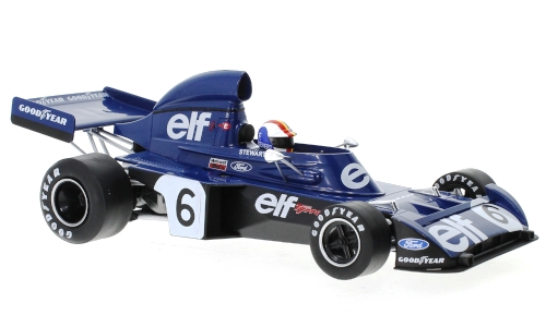 Tyrrell Ford 006 Elf Team Tyrell #6 F.Cevert 1973 1:18 MCG Modelcar Group