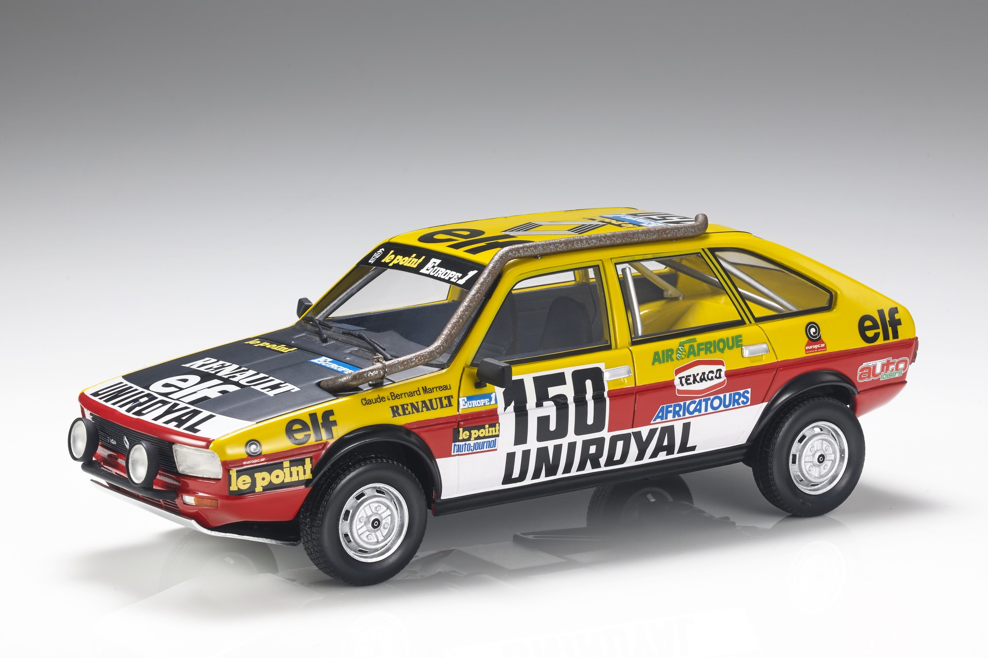 Renault RE20 #150 Winner Rally Paris Dakar 1982 1:18 Top Marques