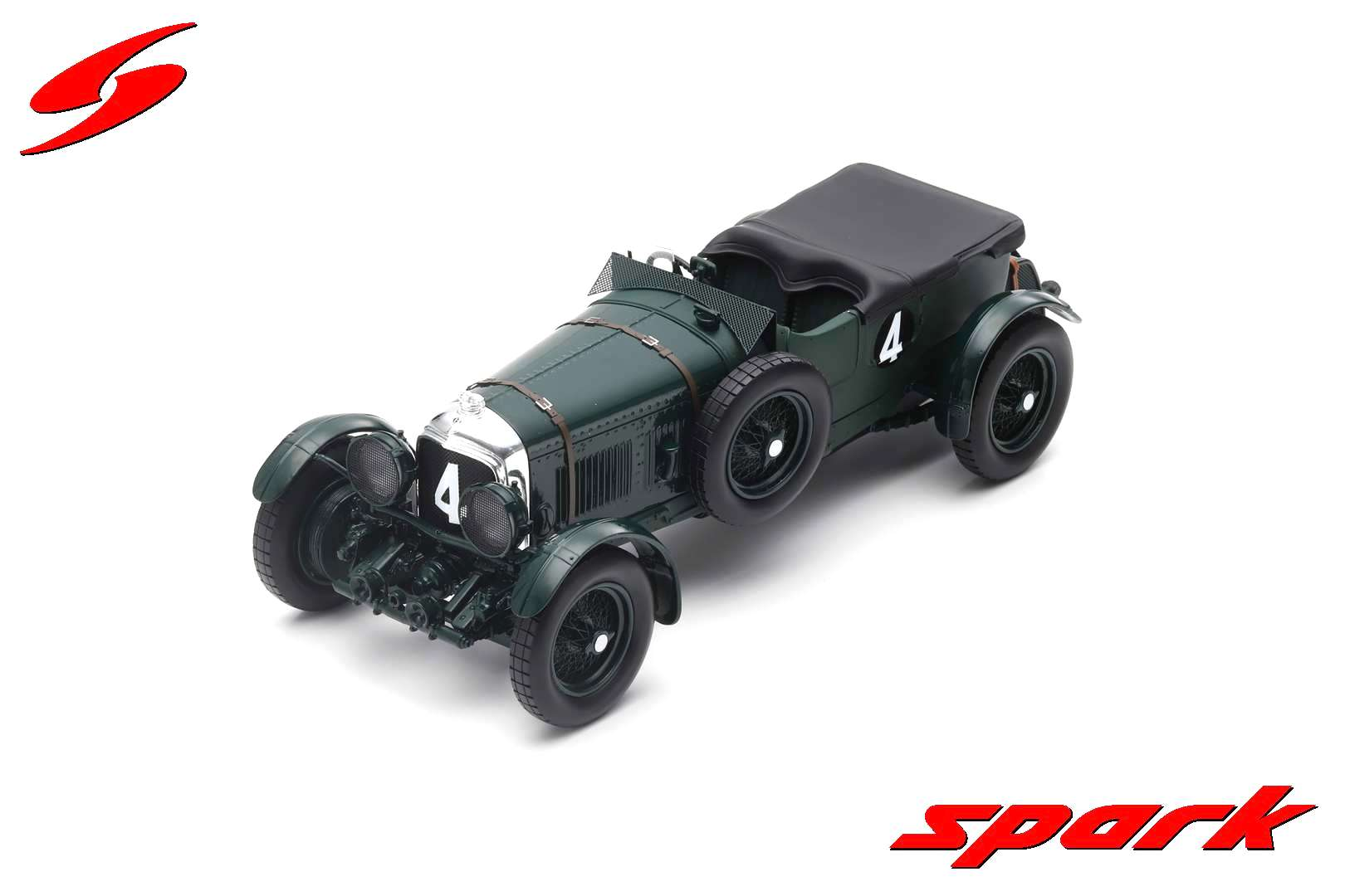 Bentley Speed Six #4 W.Barnato/G.Kidston Winner 24H Le Mans 1930 1:18 Spark