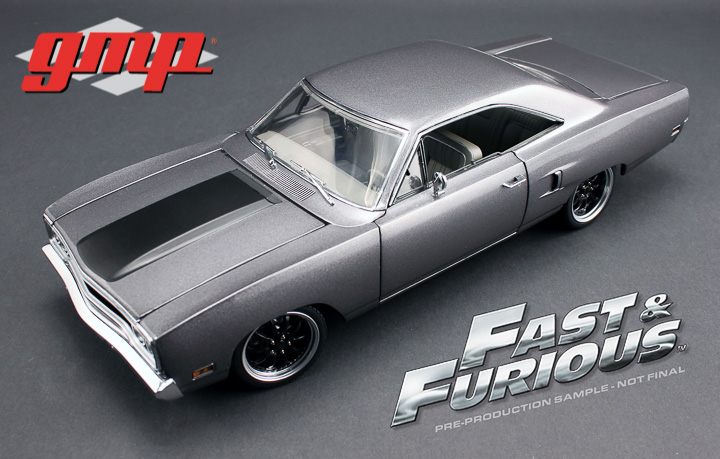 Plymouth Roadrunner Fast & The Furious Tokyo Drift *the Hammer* grey 1:18 G.M.P.