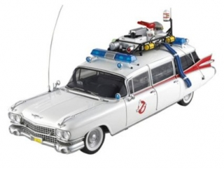 Cadillac from movie Ghostbusters I 1984 1:18 HotWheels