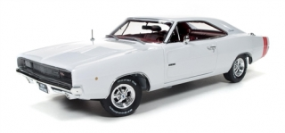 Dodge Charger R/T Xmas Edition 1968 white/red 1:18 Auto World