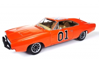 Dodge Charger *Dukes of Hazard* General Lee 1969 orange 1:18 Auto World