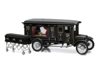 Ford Model T Ford Ornate Carved Hearse 1921 1:18 Greenlight Precision Collection
