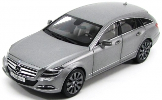 Mercedes Benz CLS Shooting Brake X218 grey 1:18 Norev