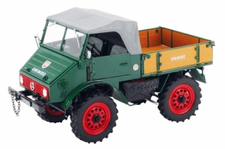 Mercedes Benz Unimog 401 green 1:18 Schuco