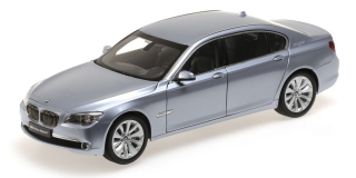 BMW 7 Active Hybrid 2009 blue 1:18 Kyosho