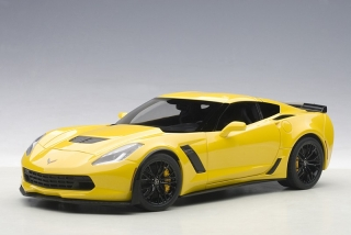 Chevrolet Corvette C7 Z06 2014 yellow 1:18 AUTOart