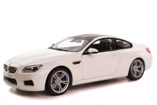 BMW M6 Coupé F13 2012 white 1:18 Paragon Models