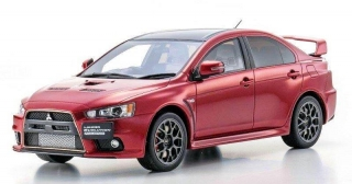 Mitsubishi Lancer Evolution X Final Edition red 1:18 Kyosho