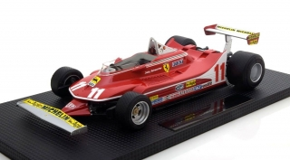 Ferrari 312 T4 World Champion Jody Scheckter 1979 1:18 GP Replicas