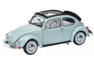 VW Beetle 1600i Última Editión with folding roof blue 1:18 Schuco