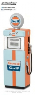 Wayne 505 Gulf Oil Gas Pump *Vintage Series 1* 1951 1:18 GreenLight