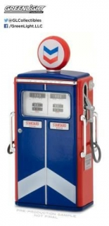 Tokheim 350 Twin Standard Oil Gas Pump *Vintage Series 1* 1954 1:18 GreenLight