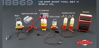 Shop Tool Set Shell Oil 1:18 G.M.P.