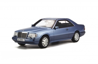 Mercedes-Benz (C124) E320 Coupe Pearl Blue 1:18 OttOmobile