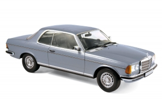 Mercedes-Benz 280 CE 1980 silverblue 1:18 Norev