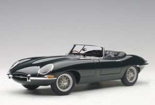 Jaguar E-Type Roadster Series I 3.8 1961 green 1:18 AUTOart