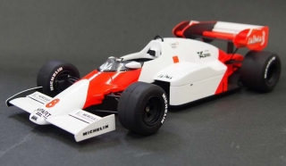 McLaren F1 MP4/2 #8 Niki Lauda World Champion 1984 1:18 GP Replicas