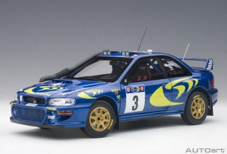 Subaru Impreza WRC#3 Colin McRae/Nicky Grist Rally of Safari 1997 1:18 AUTOart