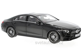 Mercedes-Benz CLS Coupe (C257) 2018 metallic-grey 1:18 Norev