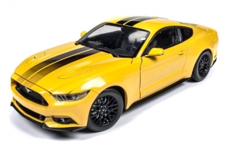 Ford Mustang GT 2016 yellow 1:18 Auto World