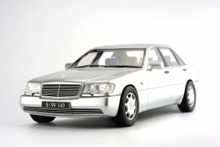 Mercedes-Benz S600 Limousine W140 1997 silver 1:18 Fronti-Art AvanStyle