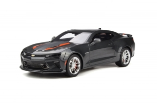 Chevrolet Camaro SS Fifty Anniversary 2017 Nightfall grey 1:18 GT Spirit