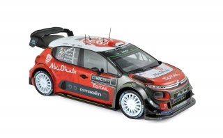 Citroen C3 WRC 2017 Official Presentation Version 1:18 Norev